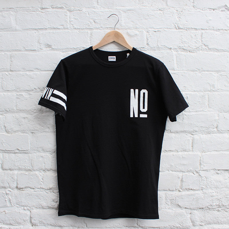 Edwin Numbers T-Shirt Black