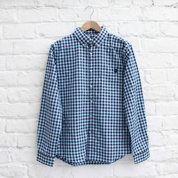 EDWIN Standart Shirt (Vichy Check) Pool/Navy
