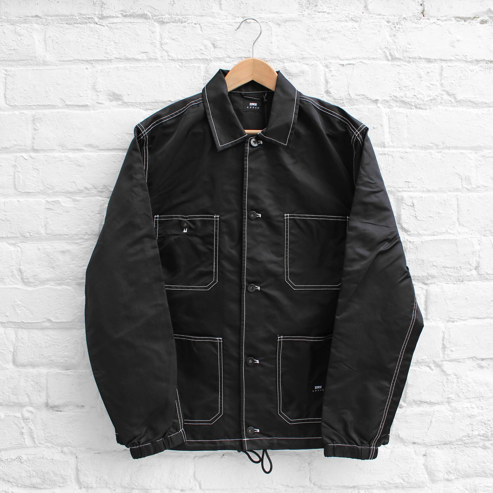 EDWIN Steppers Jacket Black