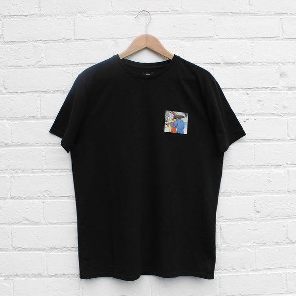 EDWIN The Family & The Rainbow T-Shirt Black