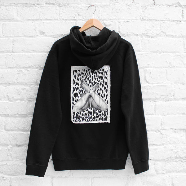 EDWIN x Kyle Stewart The Love Cult Hoody Black