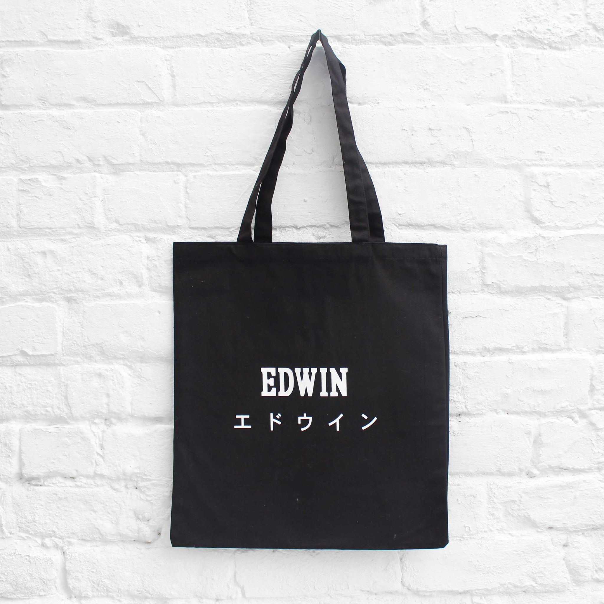 EDWIN Tote Bag Black
