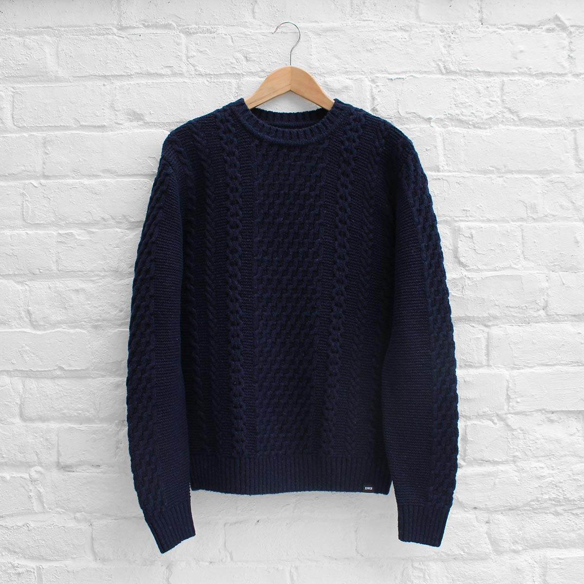 Edwin United Sweater Navy