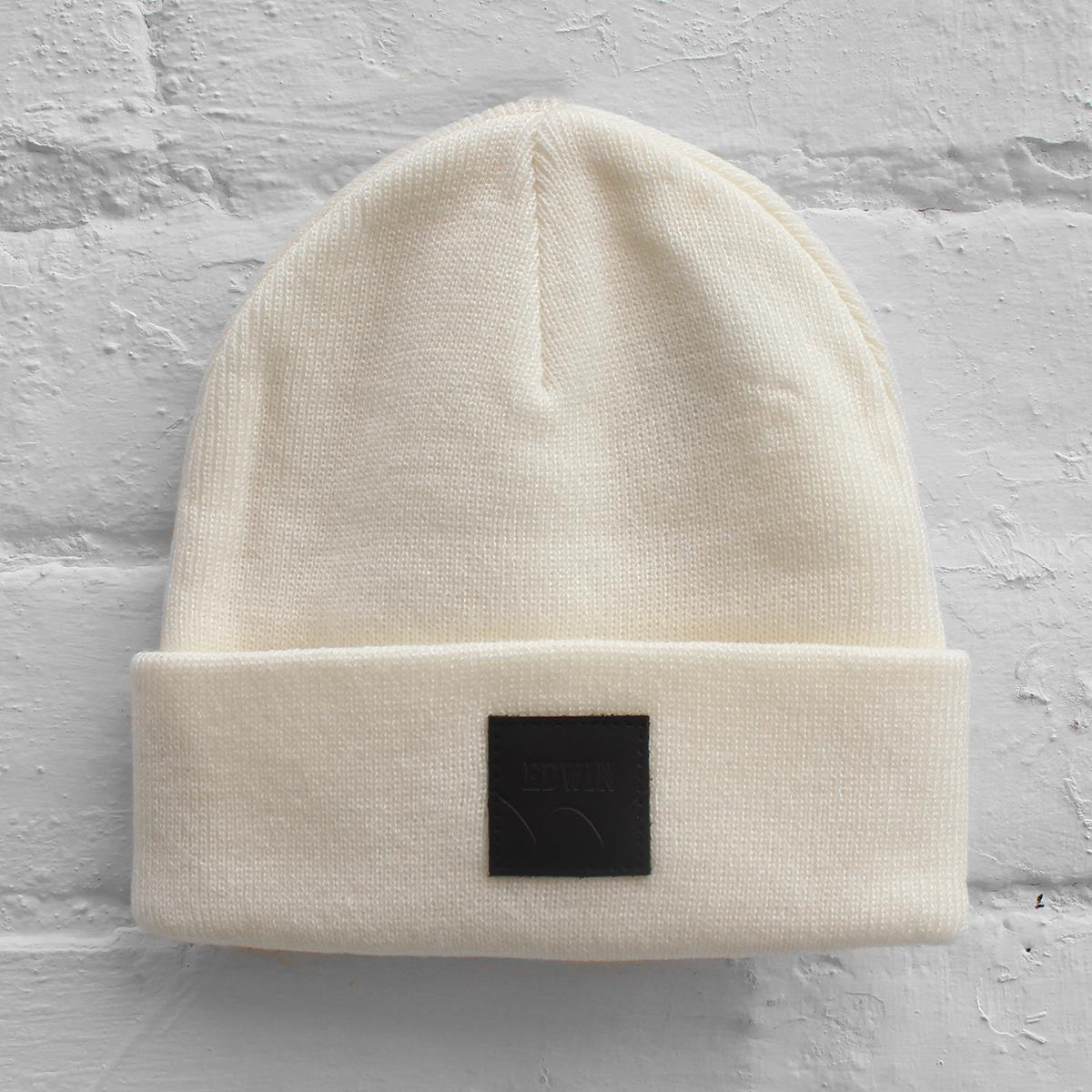 Edwin Watch Cap Beanie Off White