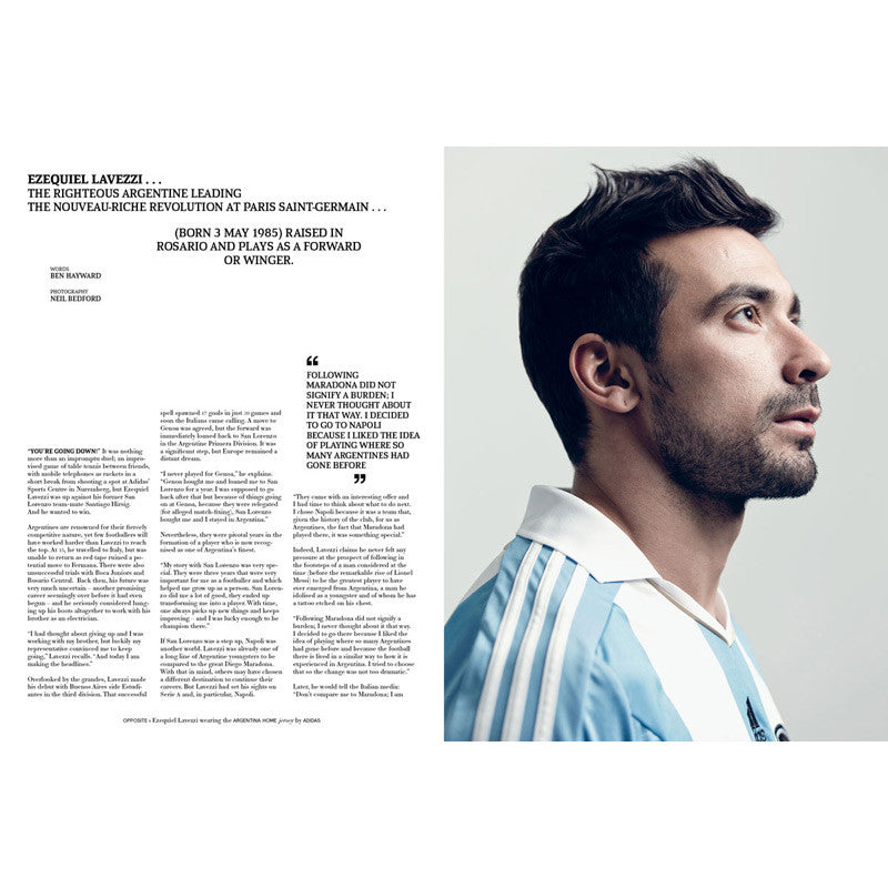 Soccer Journal Lavezzi Interview