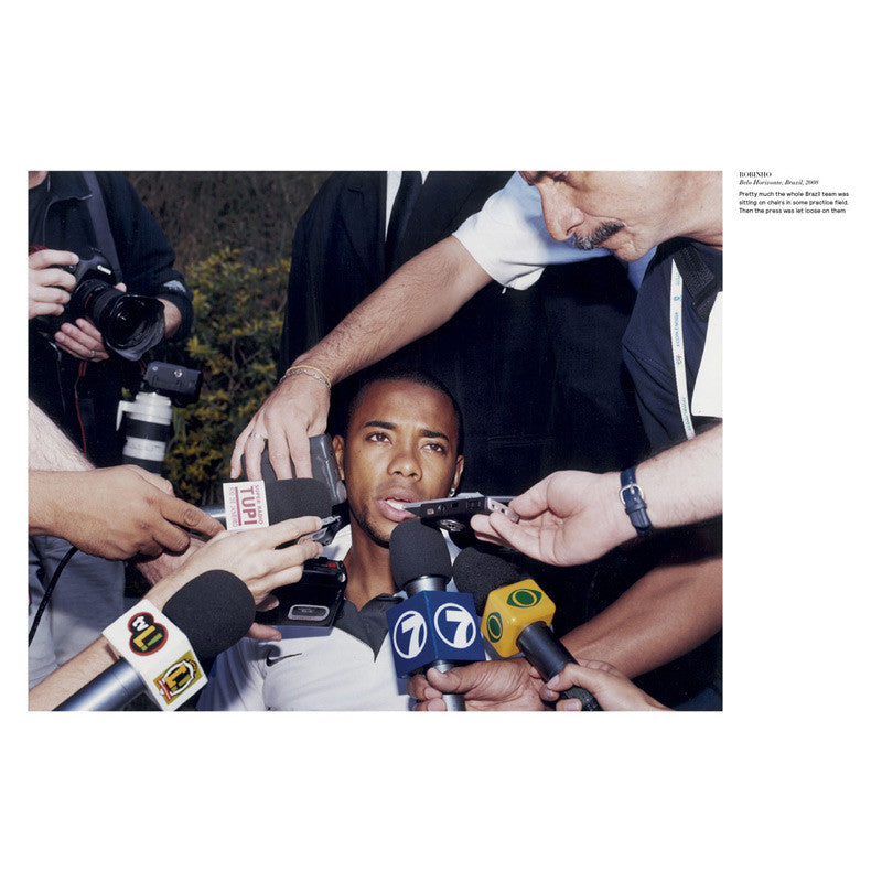 Green Soccer Journal Robinho