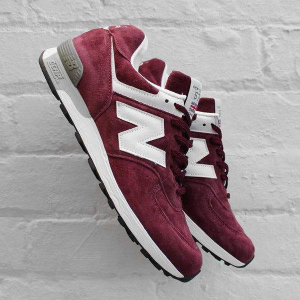 New Balance 576 Burgundy / White M576PRW