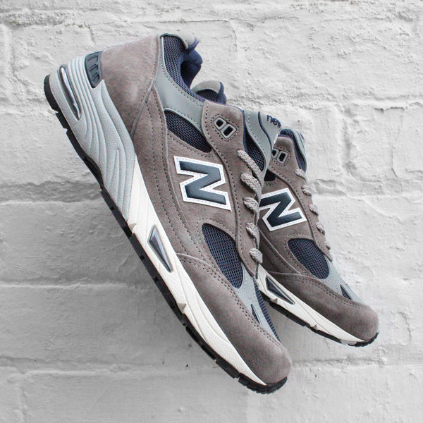 New Balance 991 Grey / Navy M991ANG