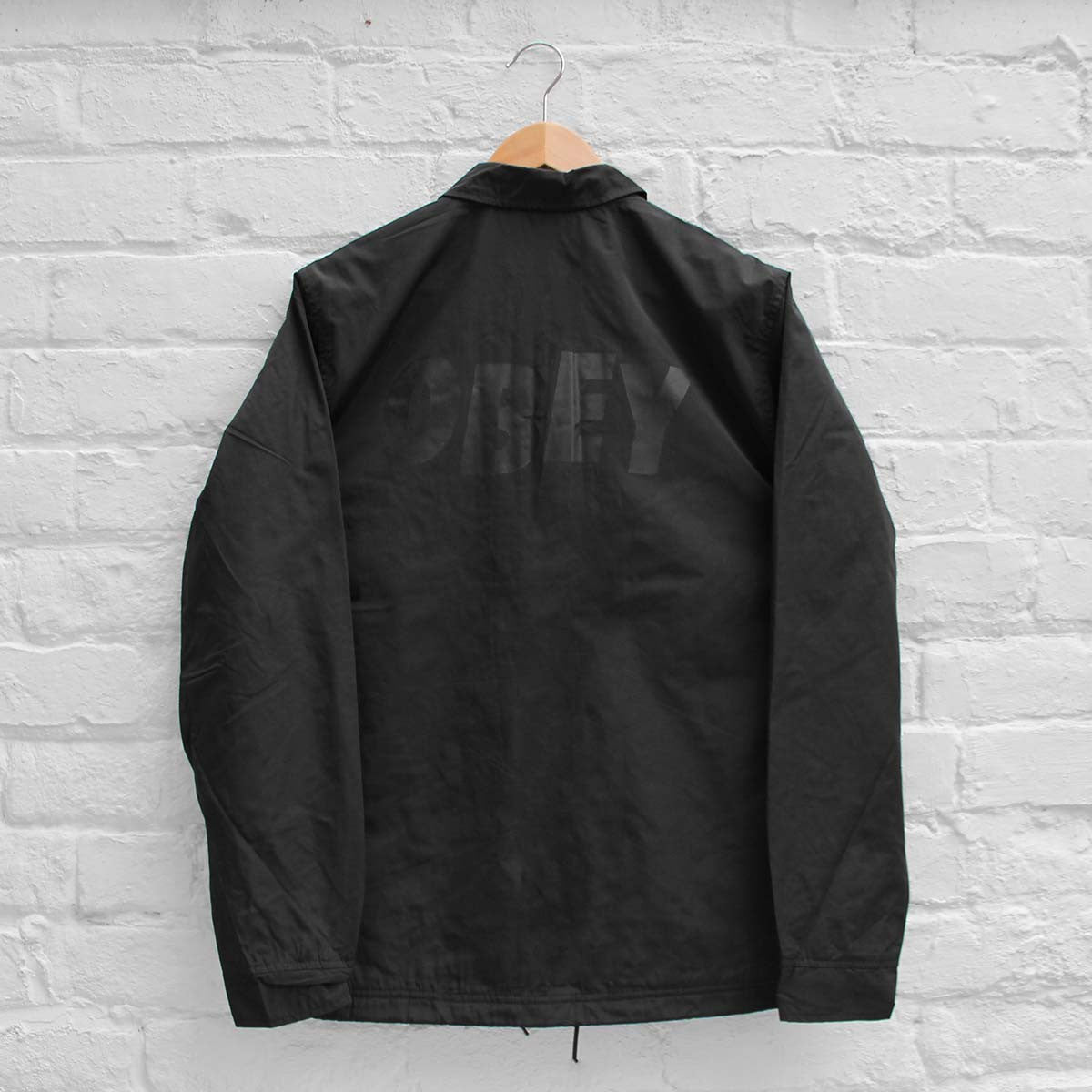 Obey Baker Graphic Coach Jacket