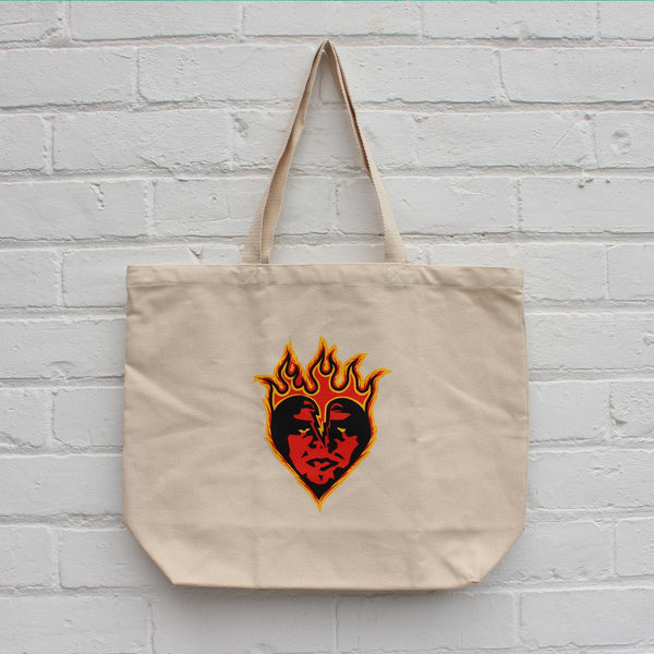 Obey Be Mine Tote Bag Natural