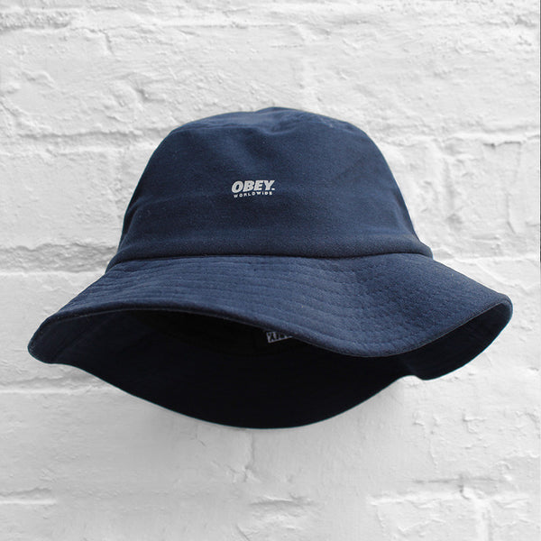 Obey Comstock Bucket Hat Navy