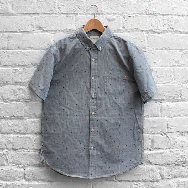 Obey Crossline Shirt Navy