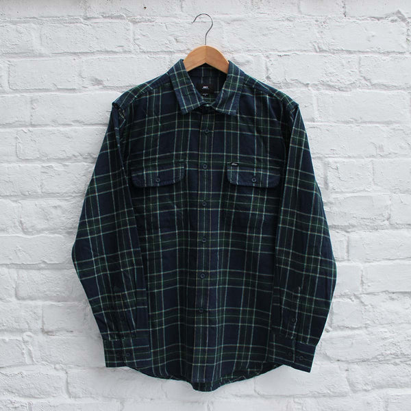 Obey Highland Shirt Green