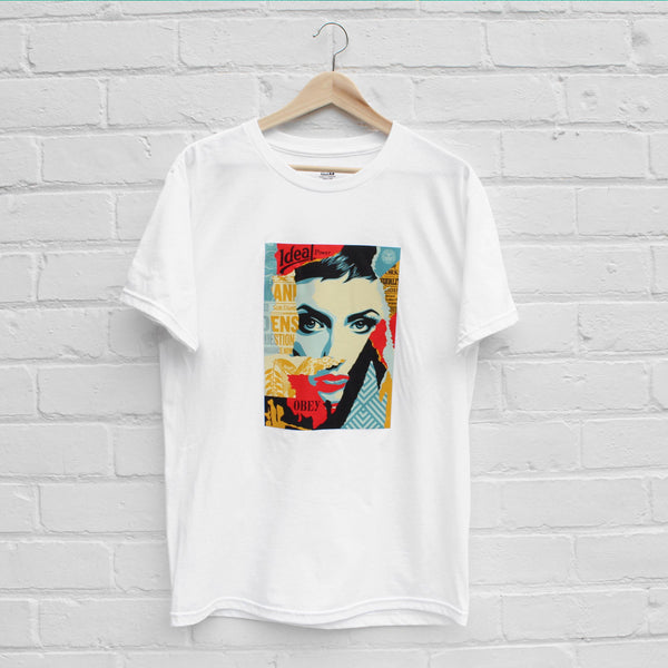 Obey Ideal Power T-Shirt White