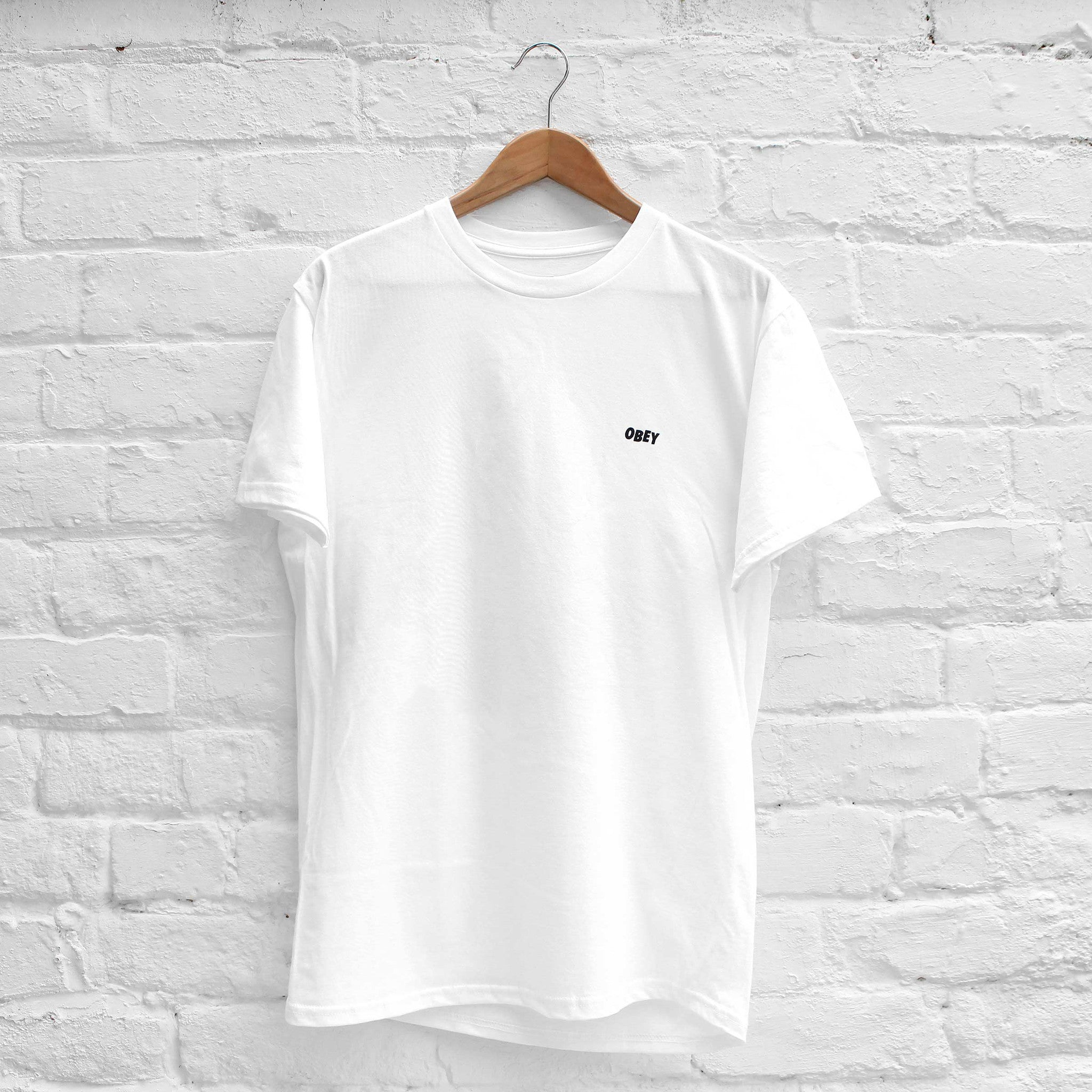 Obey Smokes Once T-Shirt White