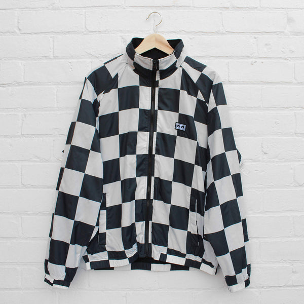 Obey Lense Jacket Checker