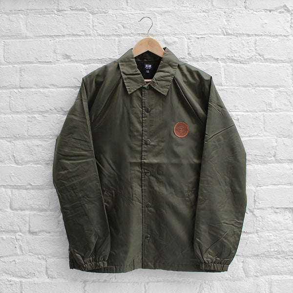 Obey Mercer Coach Jacket Forest
