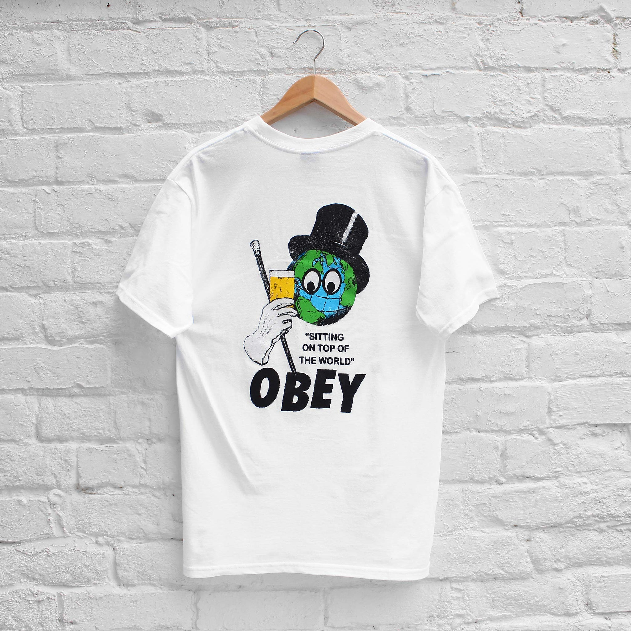 Obey On Top of the World T-Shirt White