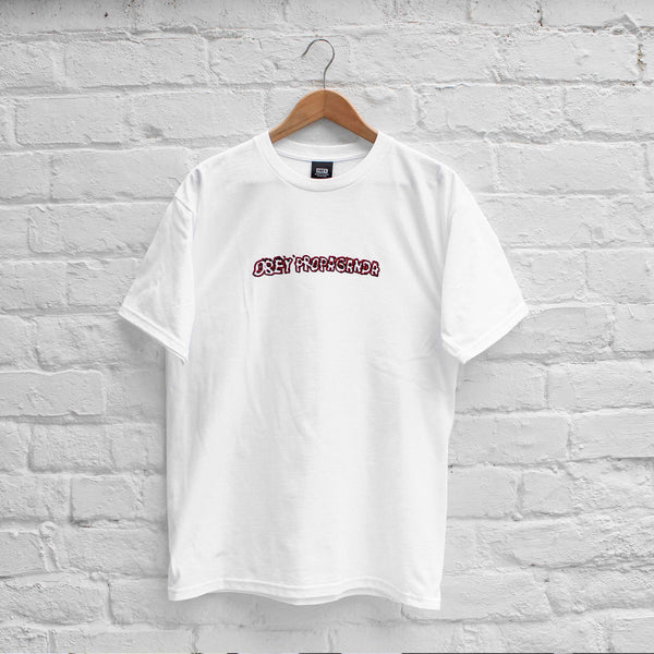 Obey Public Opinion T-Shirt White