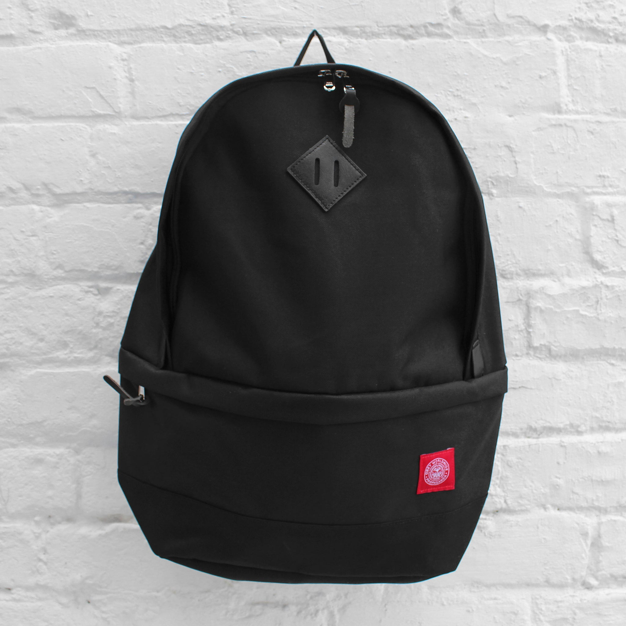 Obey Revolt Red Day Pack Black