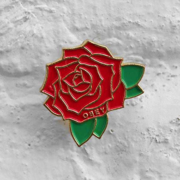 Obey Rose Pin