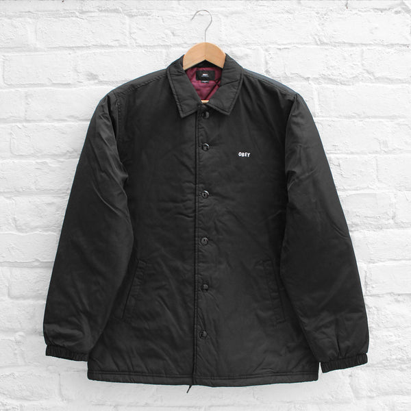 Obey Sanction Jacket Black