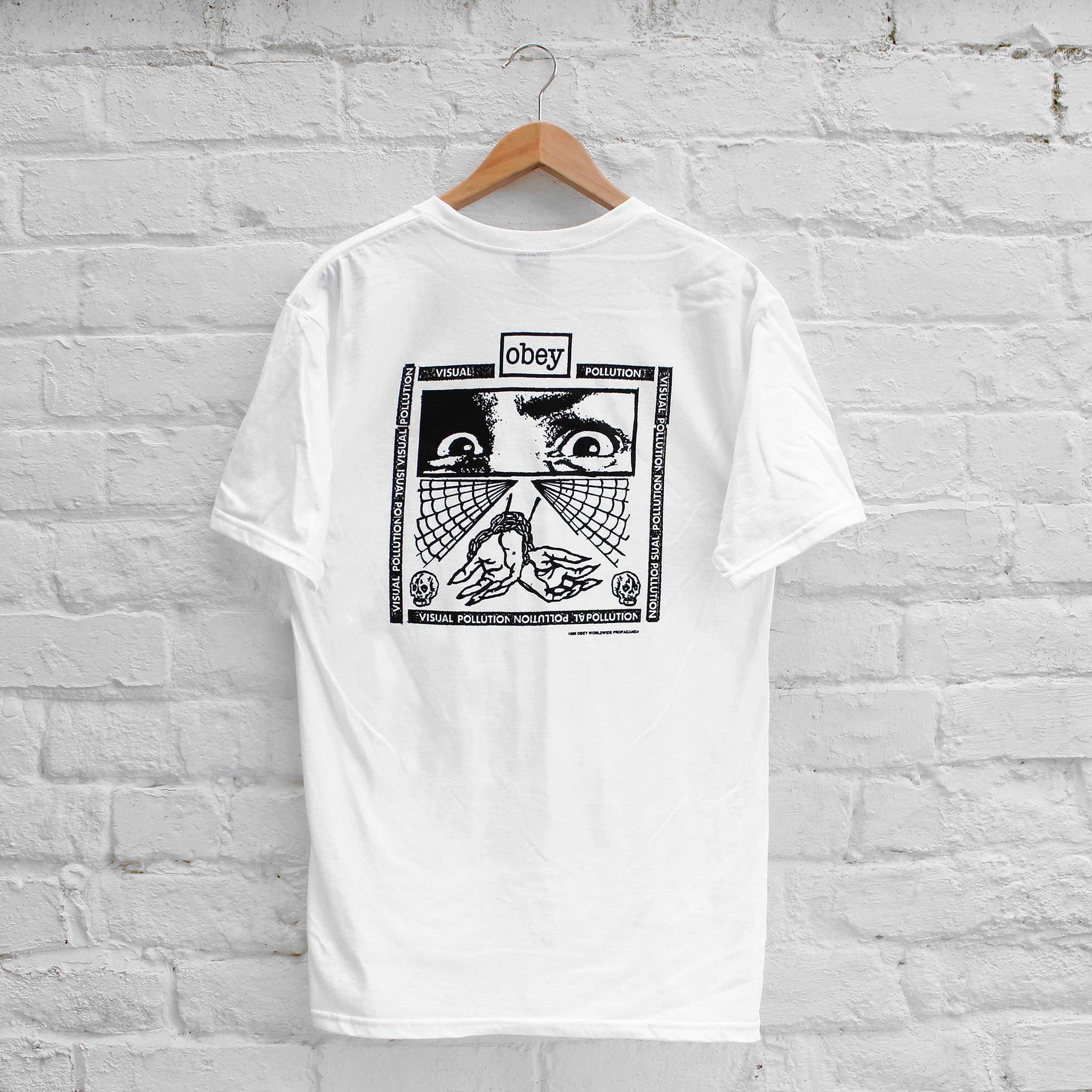 Obey Shockbound T-Shirt White