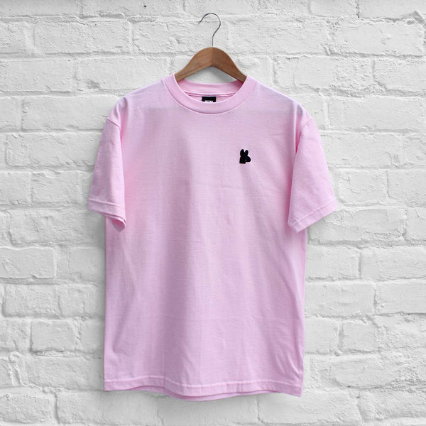 Obey Tear Drop T-Shirt Pink