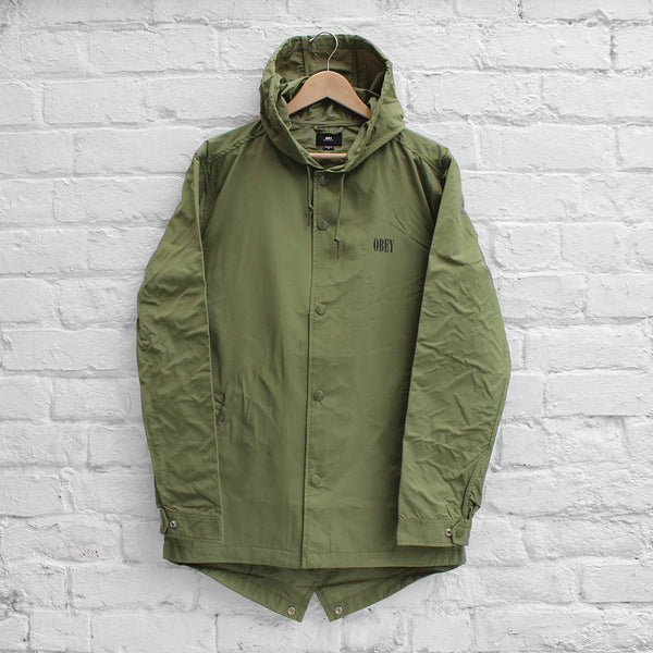 Obey Transponder Jacket Army