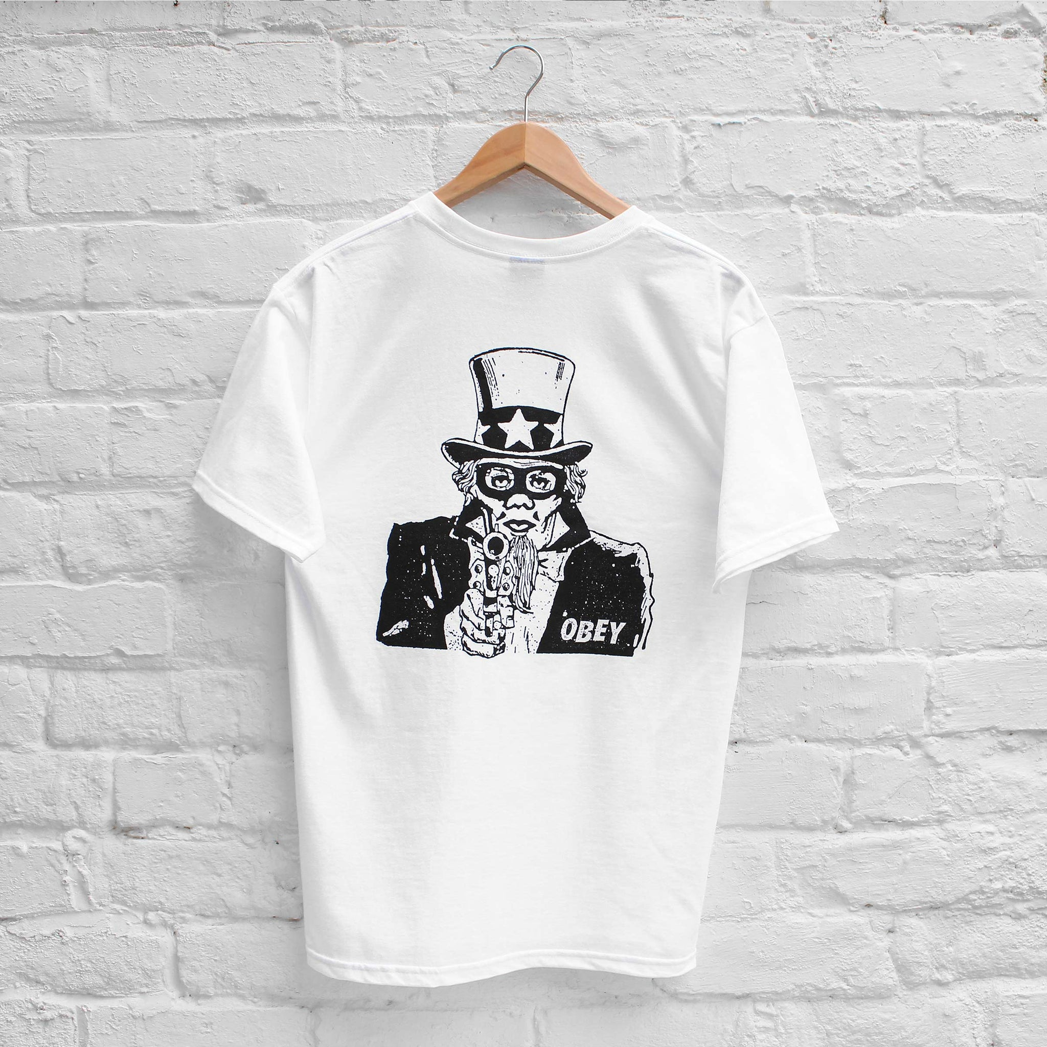 Obey Uncle Sham T-Shirt White