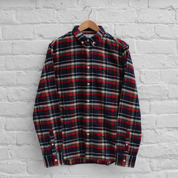 Penfield Barrhead Shirt Red