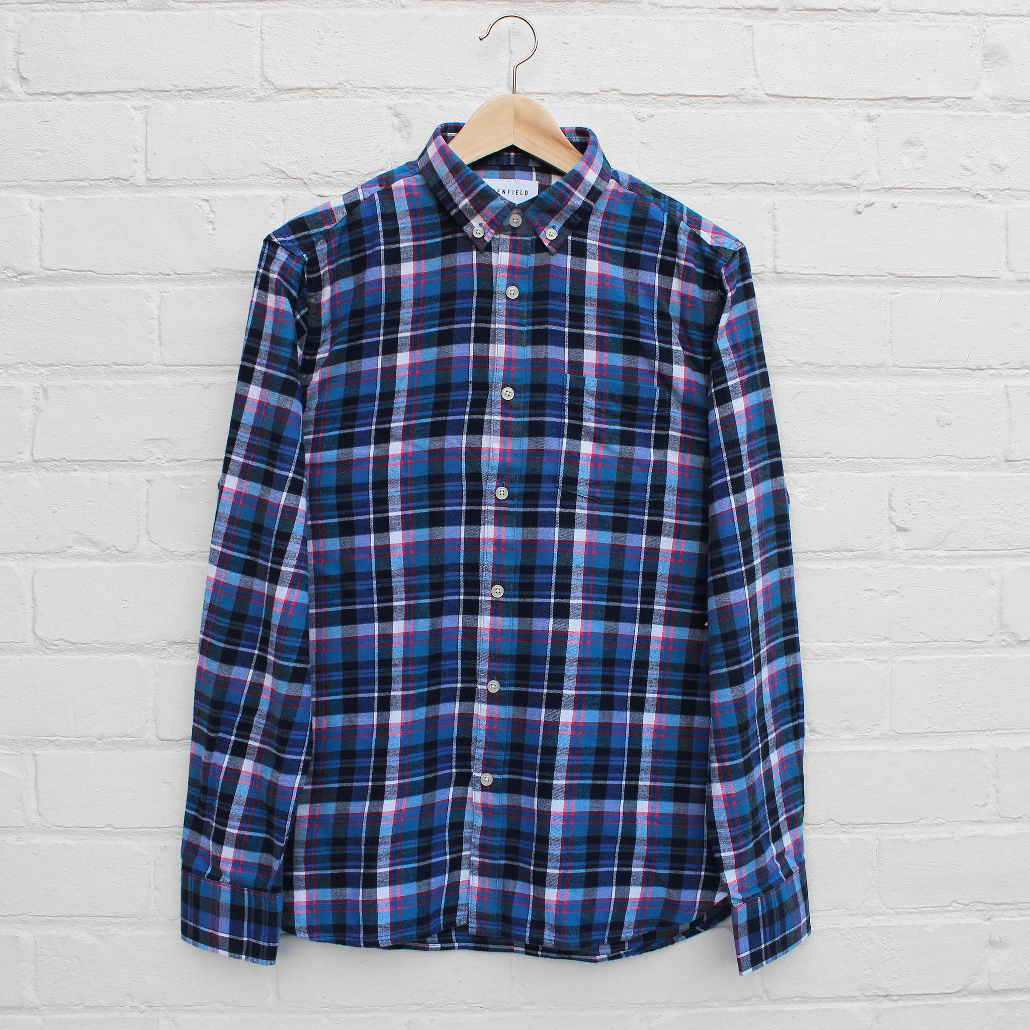 Penfield Barrhead Shirt Blue