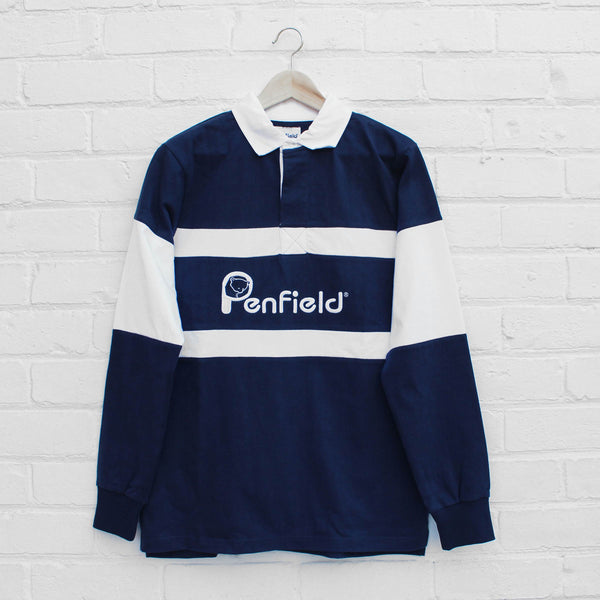 Penfield Cass Rugby Shirt Navy