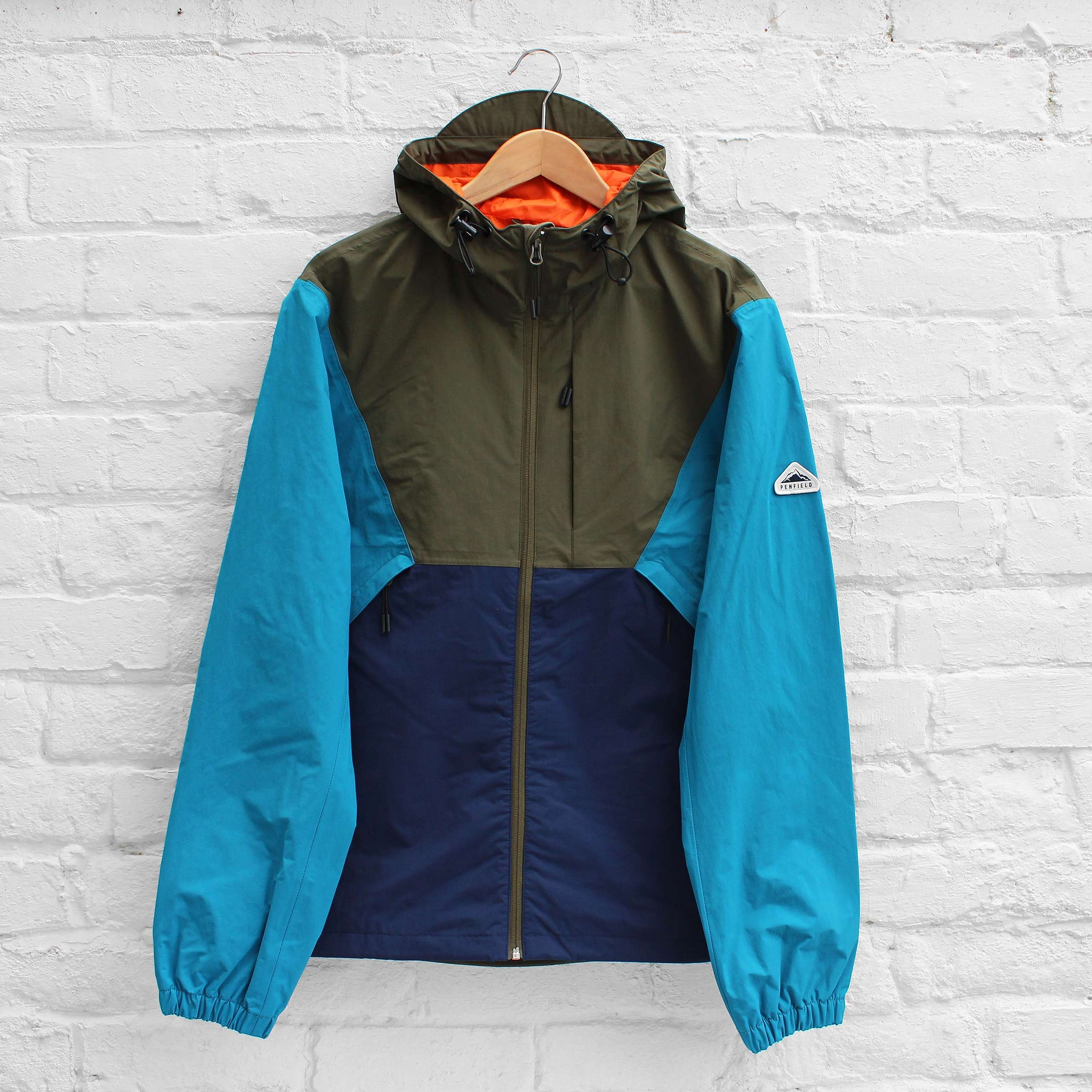 Penfield Cochato Colourblocked Jacket Olive