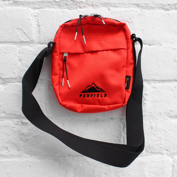 Penfield Downey Shoulder Bag Fire Orange