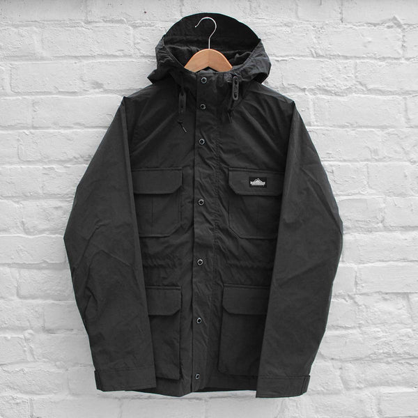 Penfield Kasson Reflective Jacket Black