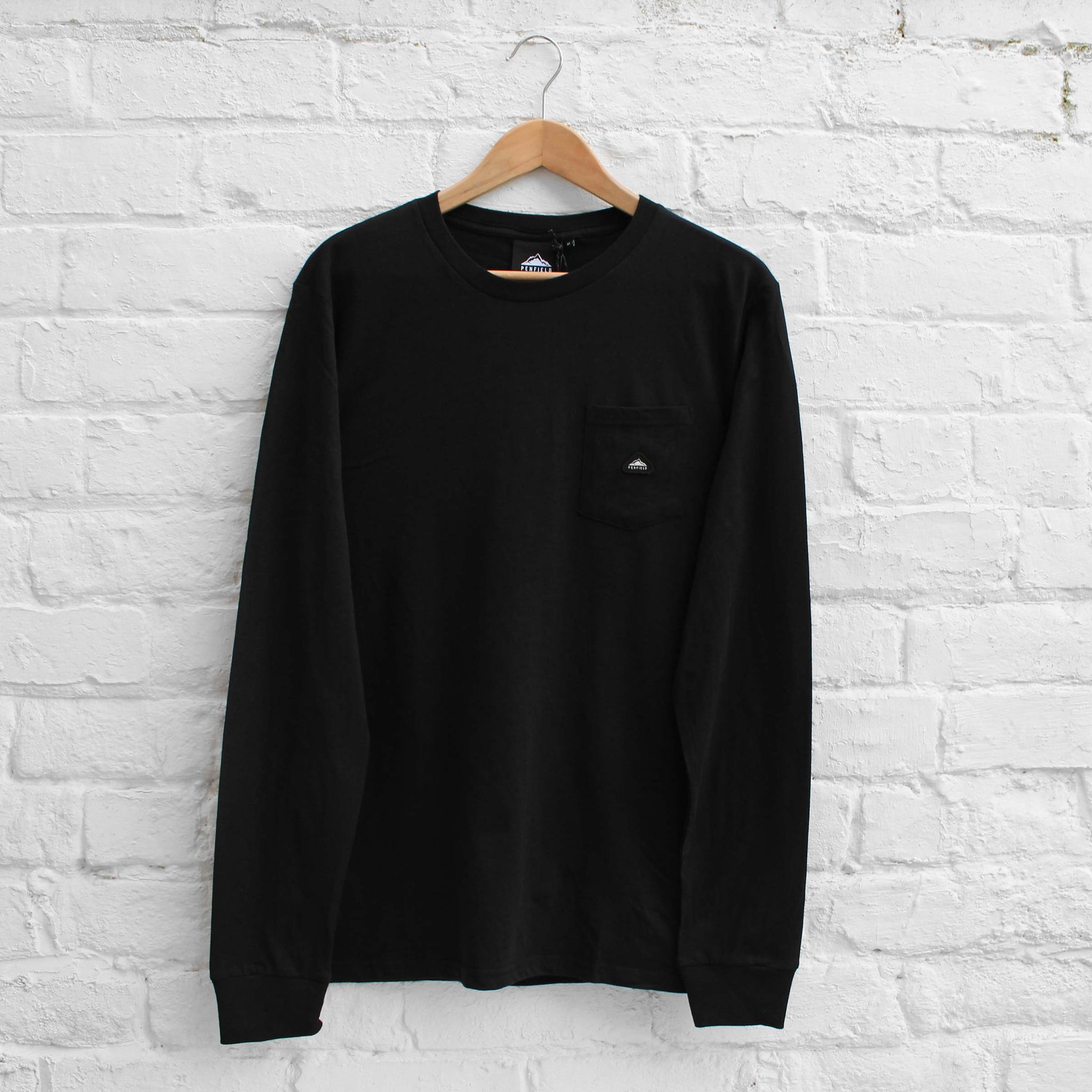 Penfield Northbridge Long Sleeve T-Shirt Black