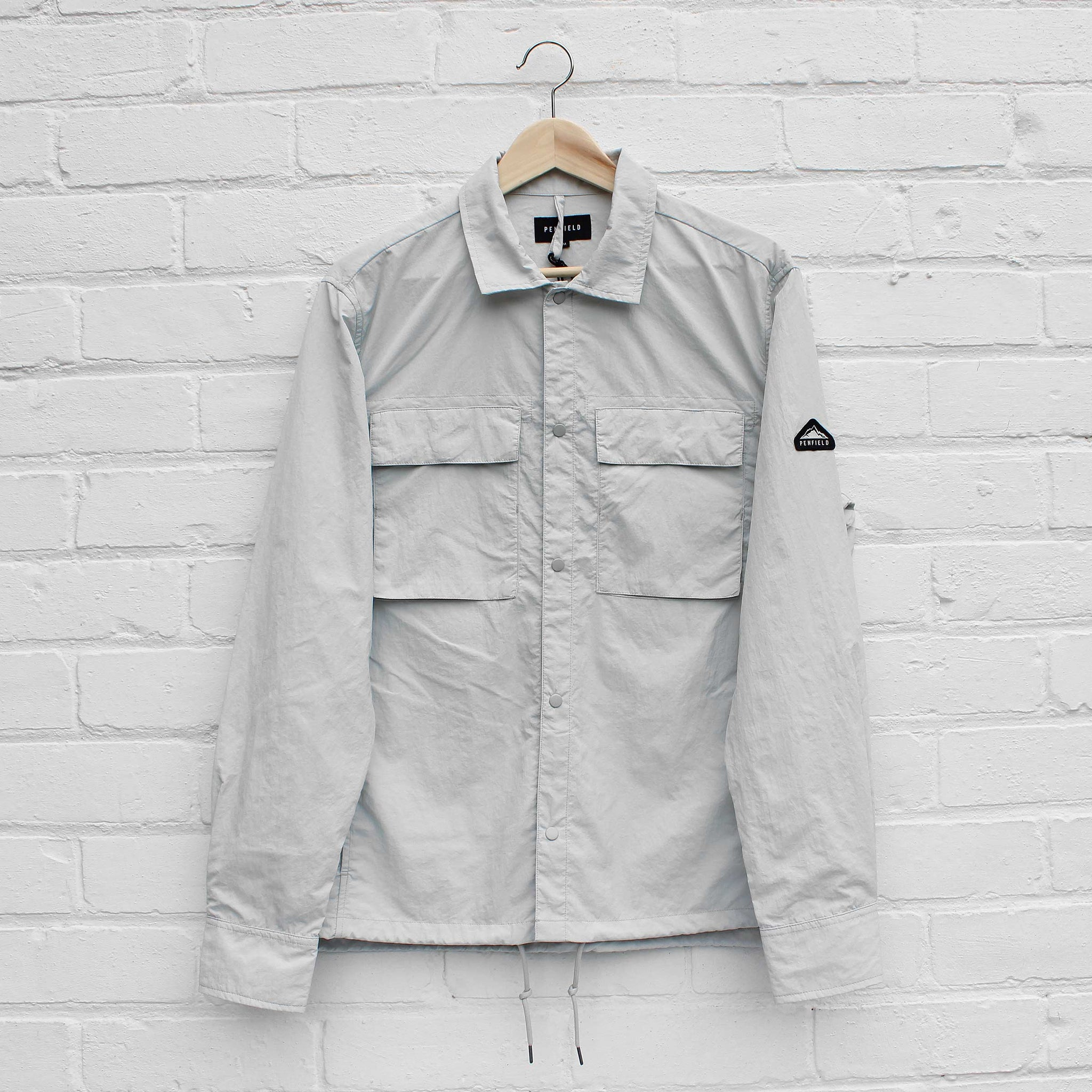 Penfield Oakledge Shirt Silver Cloud