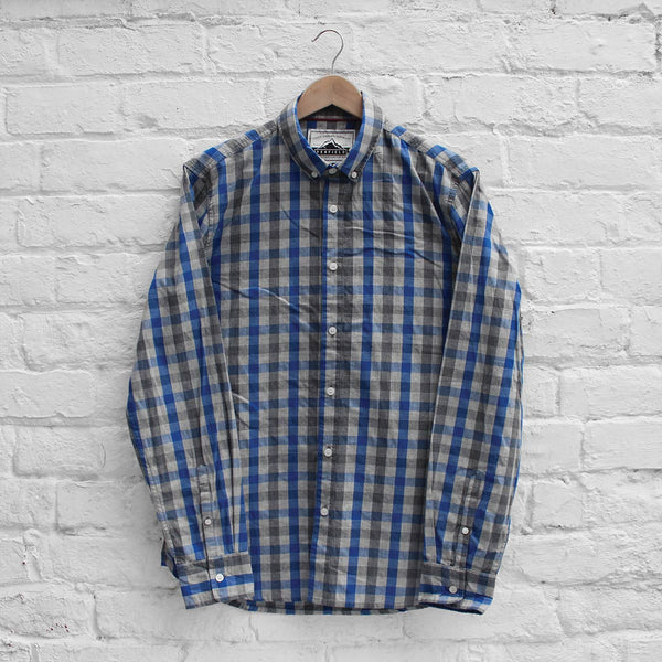 Penfield Wadcrest Shirt Blue Check
