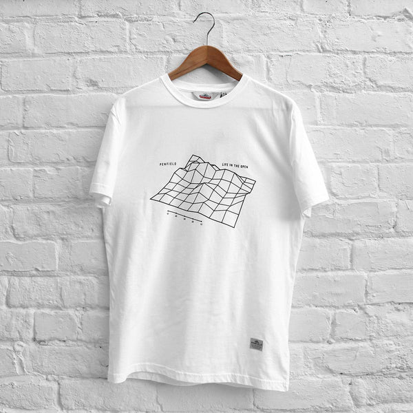 Penfield Wireframe T-Shirt White