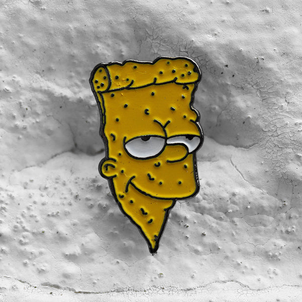 Pizza Skateboards Bart Pin Badge