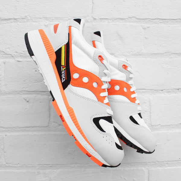 Saucony Azura White / Orange / Black