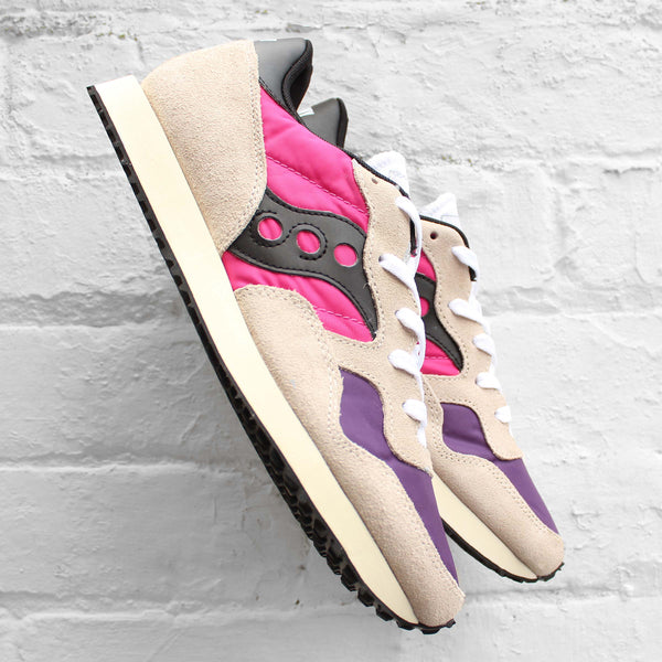 Saucony DXN Vintage White/Pink/Purple