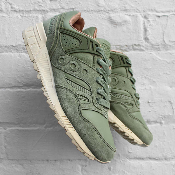 Saucony Grid SD Premium Olied Green
