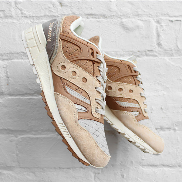 Saucony Grid SD Quilt Tan/Grey