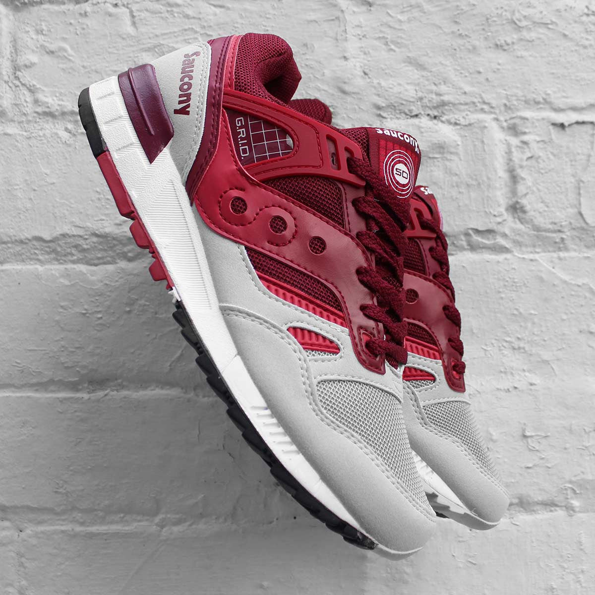 Saucony Grid SD Premium Red / Light Grey