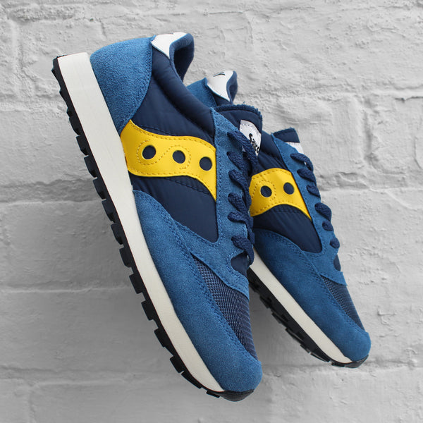 Saucony Jazz Original Vintage Blue / Yellow