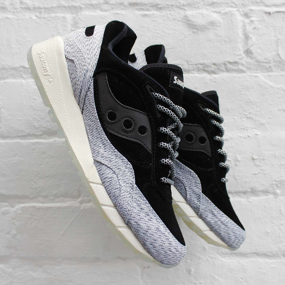 Saucony Shadow 6000 Dirty Snow Pack Grey/Black