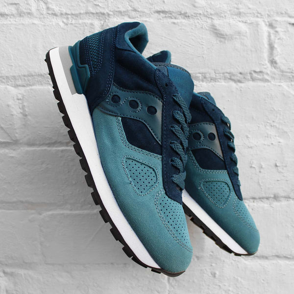 Saucony Shadow Original Suede Blue/Teal