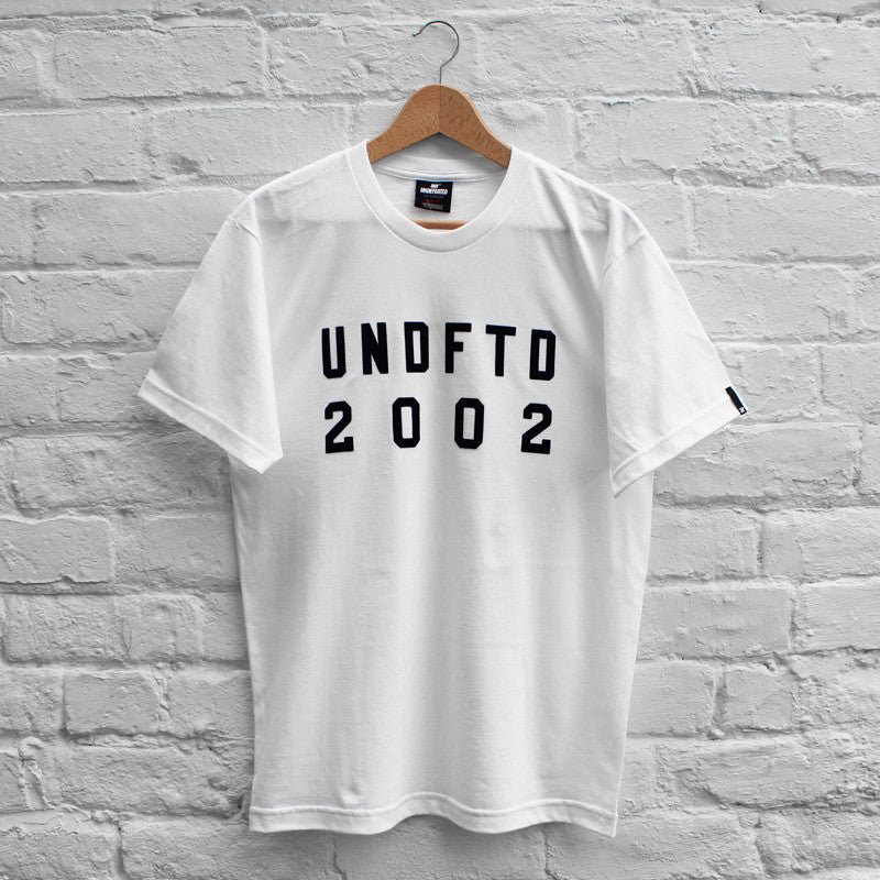 Undefeated Alpha T-Shirt White